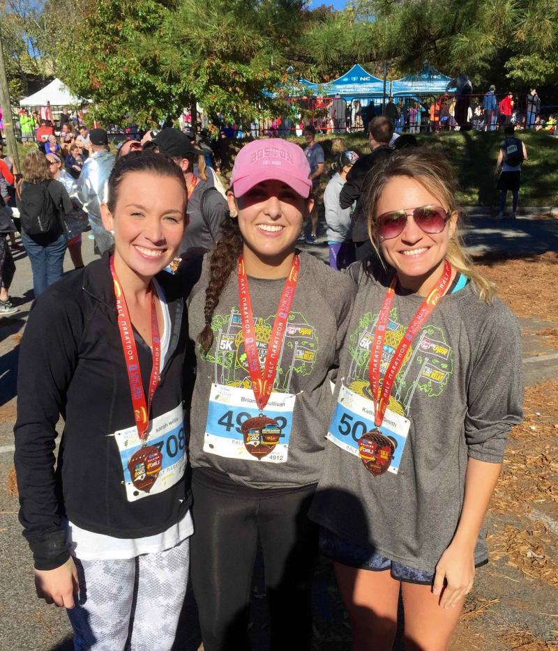 IOHRM students at City of Oaks Half Marathon