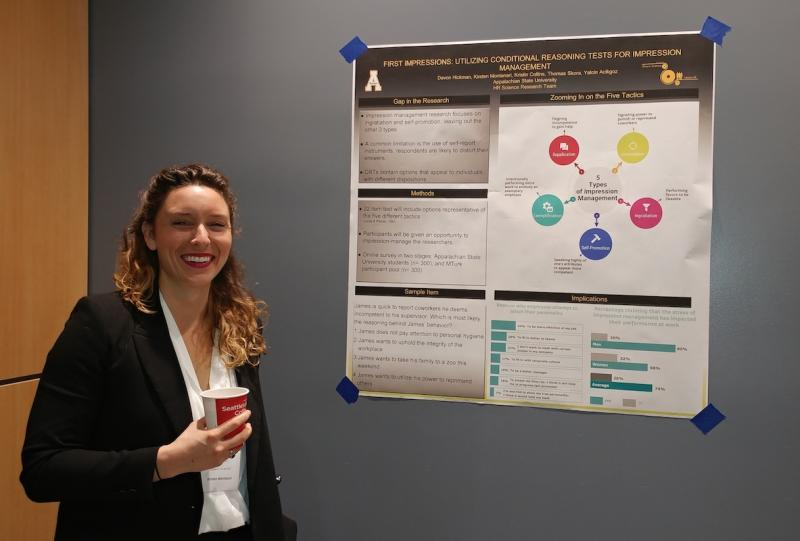 Kirsten Montanari Presents Research at RCIO Conference