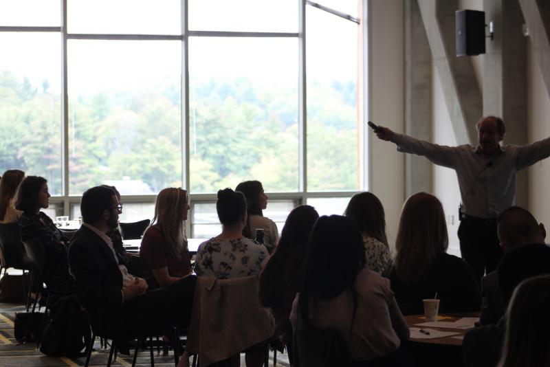 Dr. Jim Westerman Presents At The Professional Development Conference