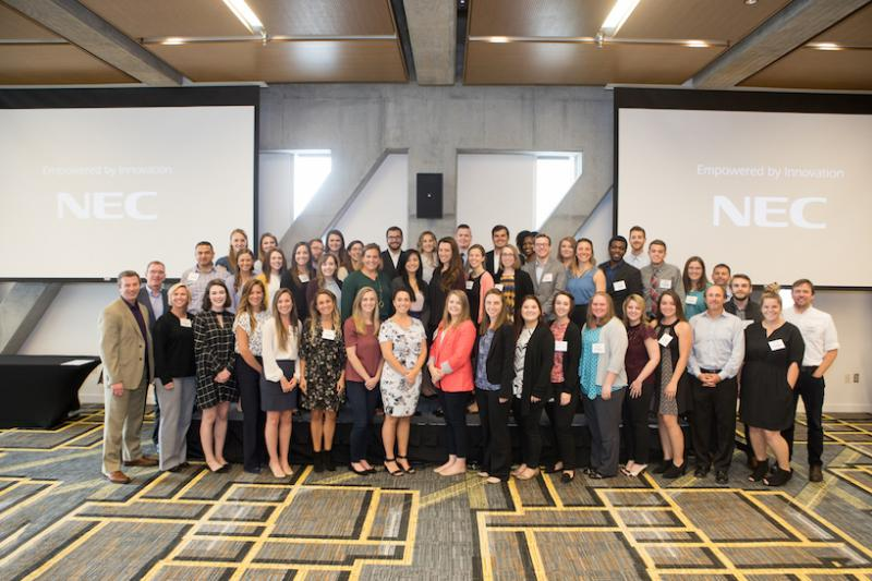 Everyone Together At The Professional Development Conference