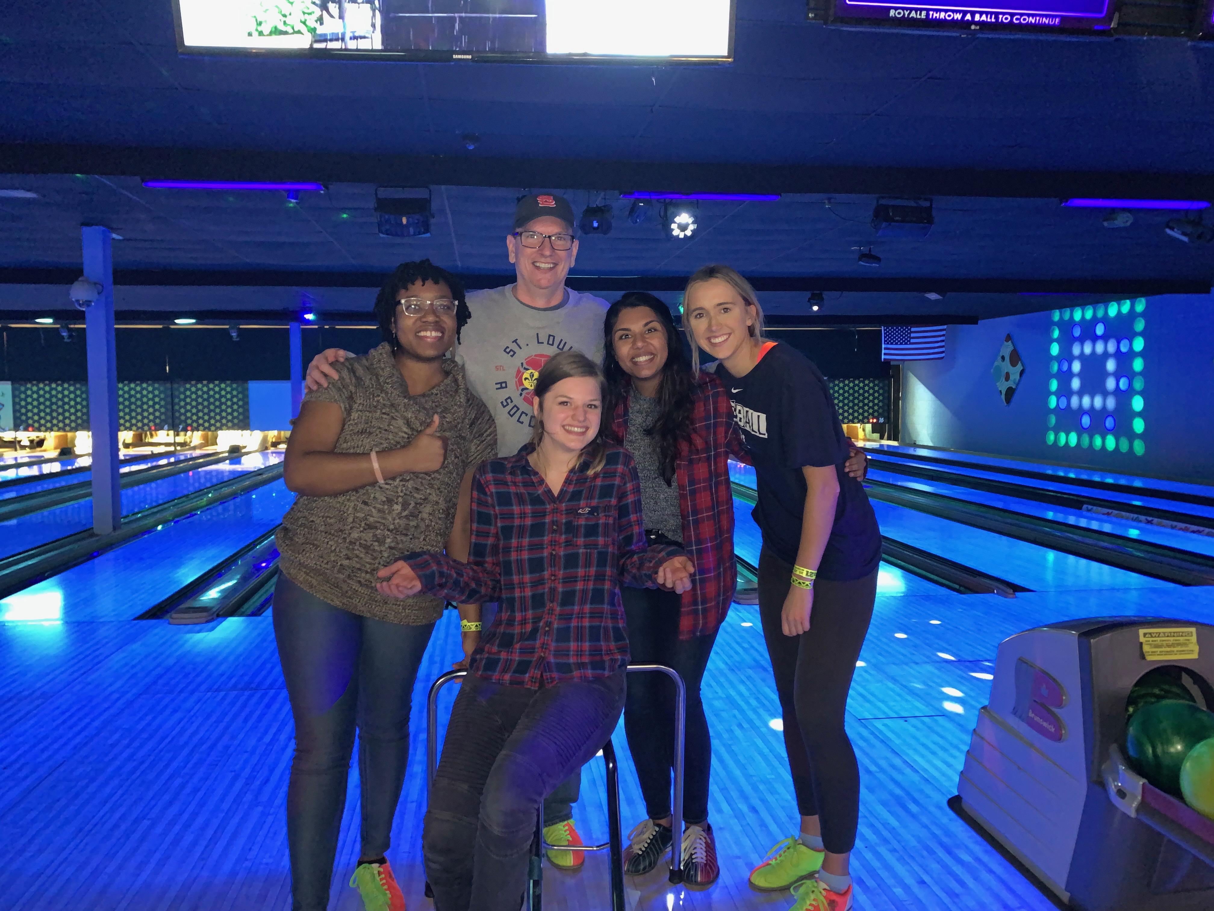 Bowling Team Photo
