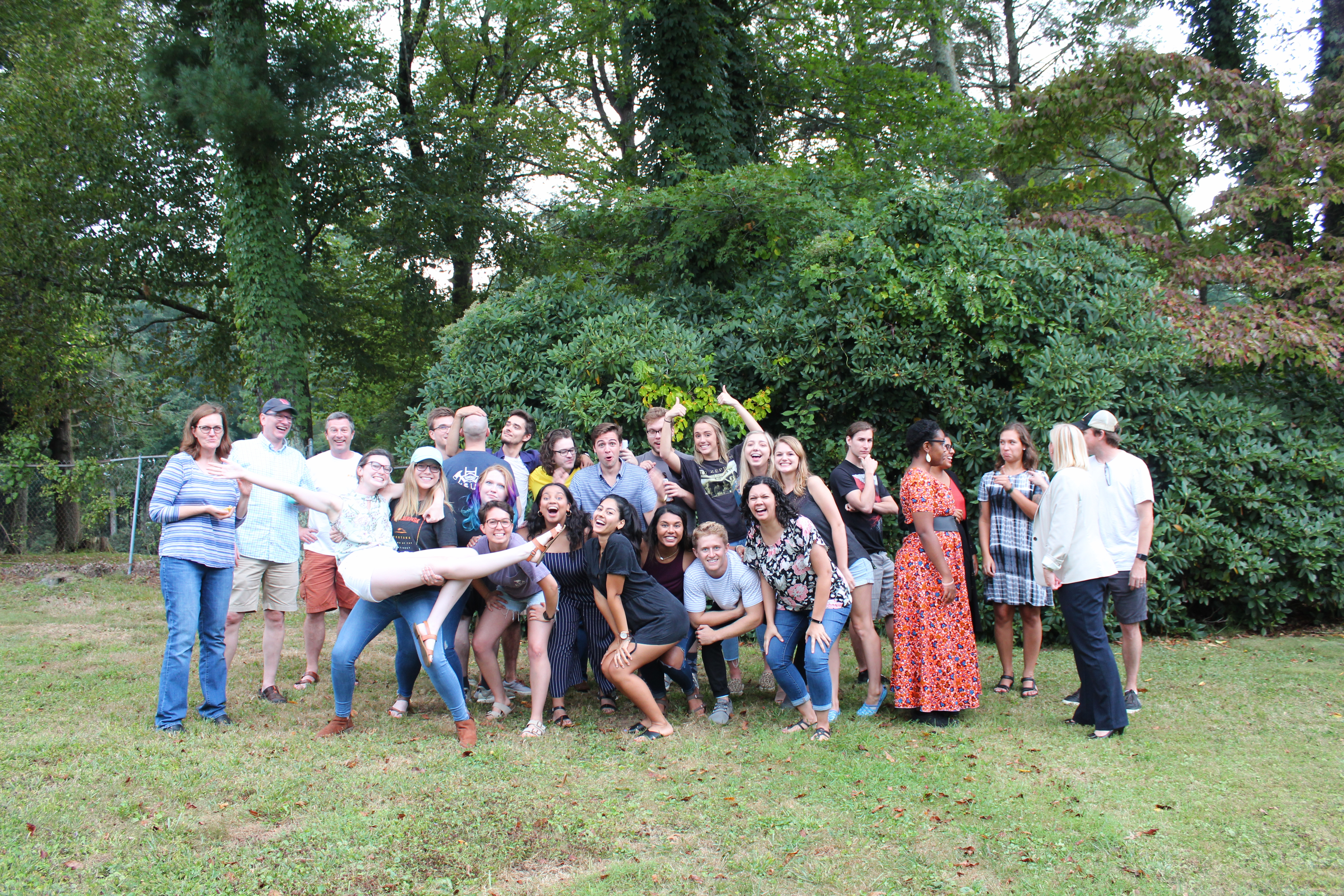 Funny Photo of Everyone at the IOHRM Cookout