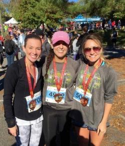 IOHRM students at City of Oaks Half Marathon