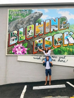 Cody and Aimee Explore Blowing Rock