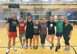 IOHRM Intramural Volleyball Team