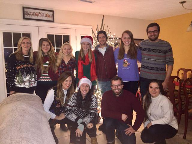 Class of 2018 Tacky Christmas Sweater Party