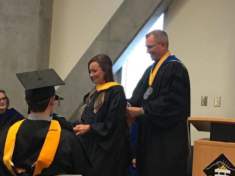 Hooding Ceremony