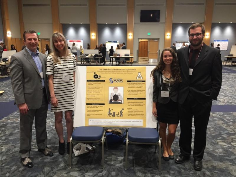 Cameron Brown Presents Research at RCIO Conference