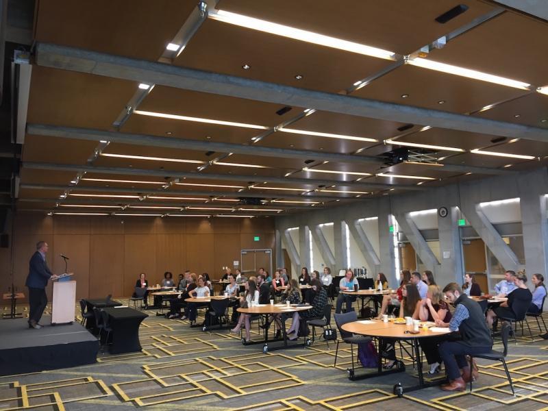 Dr. Tim Huelsman Kicks Off The Professional Development Conference