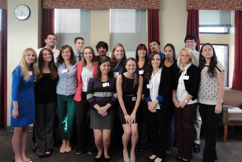 IOHRM students at advisory board meeting
