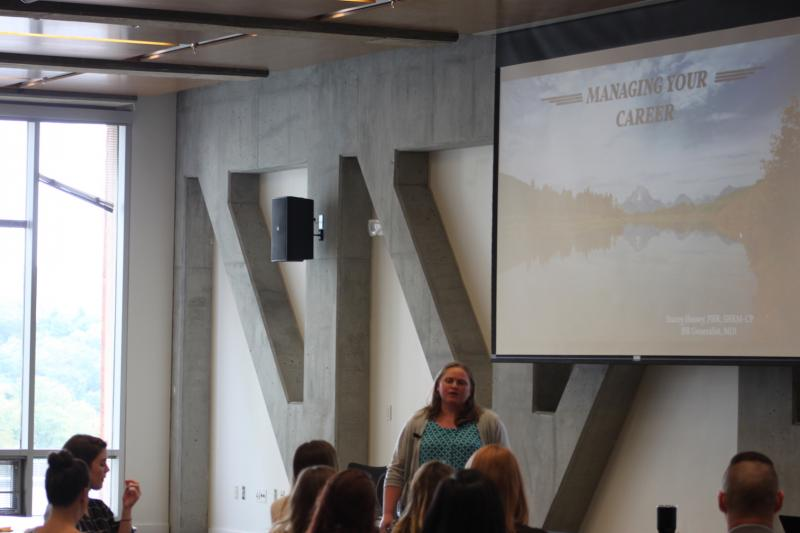 Alumni Stacey Hussey Presents At The Professional Development Conference