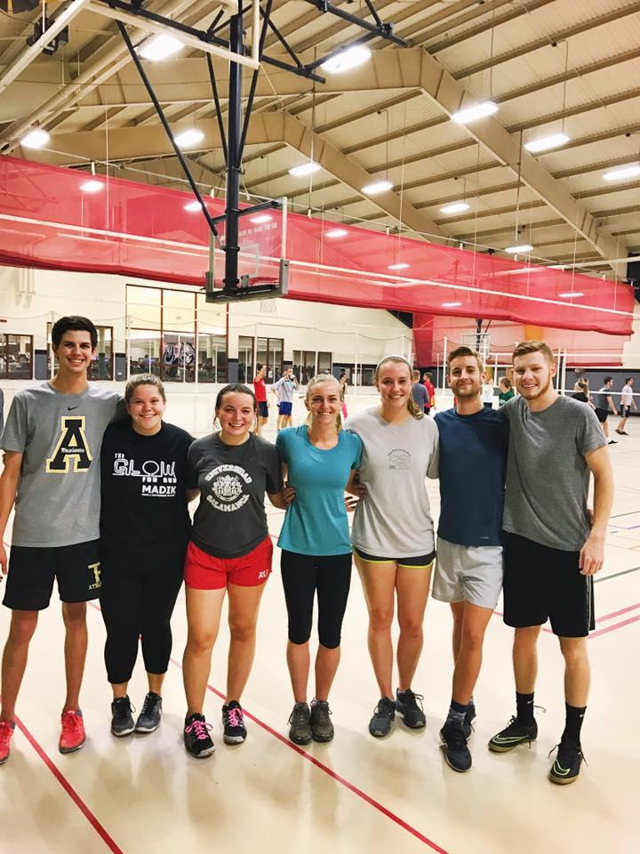 IOHRM students at the gym