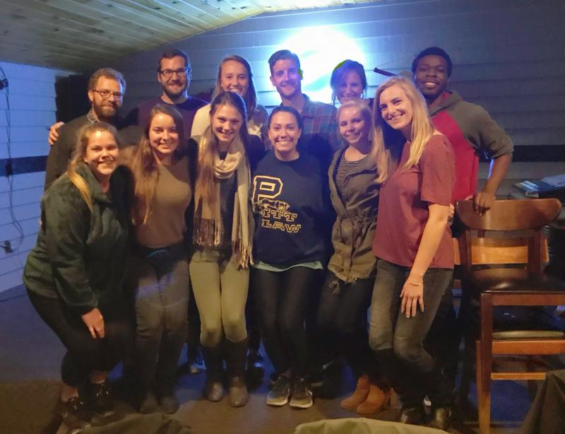 2nd Year Cohort Dinner in Blowing Rock