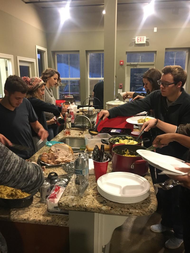 First-Year Cohort Friendsgiving