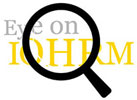 Eye on IOHRM logo