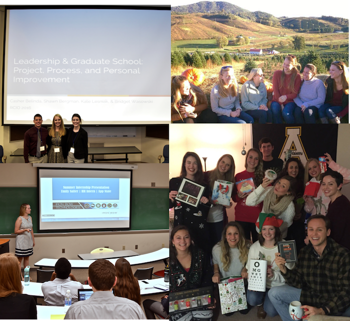 collage of photos of IOHRM graduate students