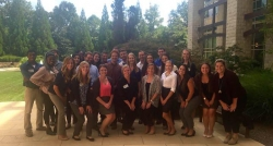 IOHRM students at NCIOP conference
