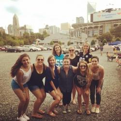 IOHRM students at Carolina Panthers game