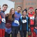 5k participants dressed as superheroes