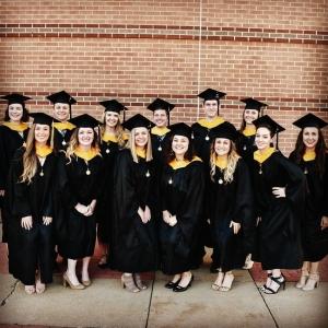 Class of 2017 graduates group photo