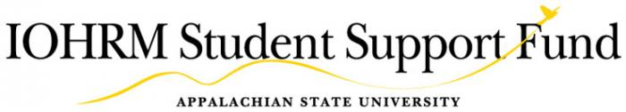 IOHRM Student Support Fund logo